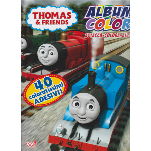 Toys2 Album color - Thomas & Friends - n. 38 - 20 maggio 2020 - bimestrale