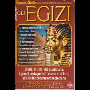 Quaderni di Storia - n. 4 - Gli Egizi - bimestrale - luglio - agosto 2020 -
