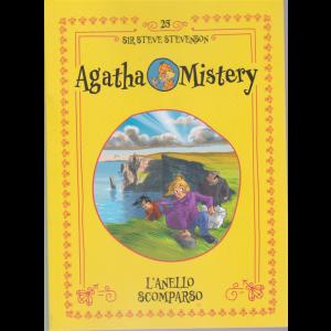 Agatha Mistery - L'anello scomparso - n. 25 - Sir Steve Stevenson - settimanale
