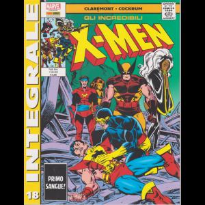 Marvel Integrale - Gli incredibili X-men - n. 18 - mensile - 11 giugno 2020 -