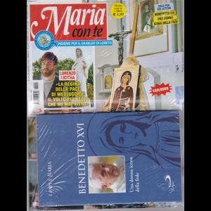 Maria con te + il libro I papi e Maria Benedetto XVI - Una donna icona della fede - n. 24 - 14 giugno 2020 - settimanale -