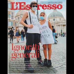 L'espresso - settomanale n. 25 - 14 Giugno 2020