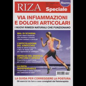 Riza Speciale - Via infiammazioni e dolori articolari - n. 18 - bimestrale - giugno - luglio 2020 -