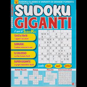 Sudoku Giganti - n. 11 - luglio - agosto 2020 - bimestrale
