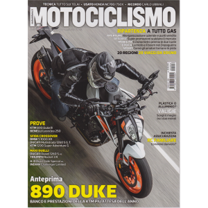Motociclismo - n. 6 - giugno 2020 - mensile