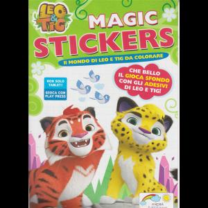 Leo & Tig Magic Stickers - n. 3 - giugno - luglio 2020 - bimestrale -