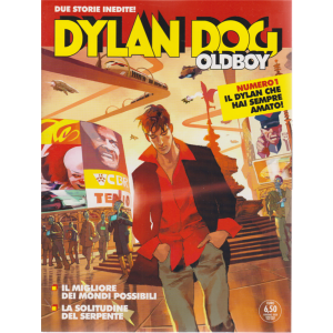 Dylan Dog Oldboy - n. 1 - giugno 2020 - bimestrale - 2 storie inedite!