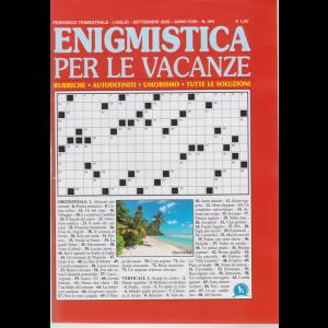 Enigmistica per le vacanze - n. 504 - trimestrale - luglio - settembre 2020