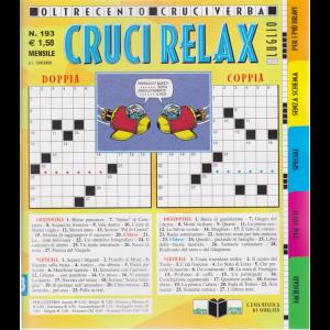 Cruci Relax - n. 193 - mensile - 13/6/2020 -