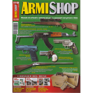 Armi Shop - n. 7 - mensile - luglio 2020 -