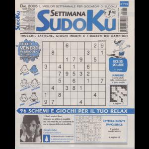 Settimana Sudoku - n. 775 - settimanale - 19 giugno 2020 -