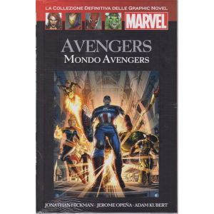 Graphic Novel Marvel - Avengers - Mondo Avengers - n. 48 - quattordicinale - 13/6/2020 - copertina rigida