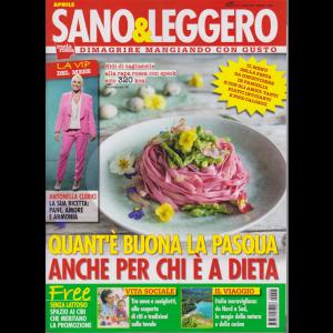 Sano & Leggero - n. 4 - aprile 2019 - mensile