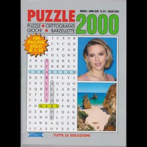 Puzzle 2000 - n. 351 - mensile - luglio 2020 - 100 pagine