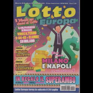 Lotto Europa - n. 6 - mensile - giugno 2020