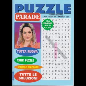 Puzzle Parade - n. 310 - bimestrale - luglio - agosto 2020 - 100 pagine