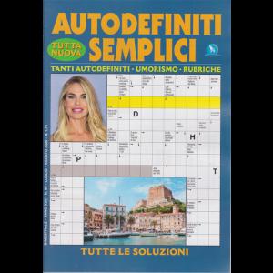 Autodefiniti semplici - n. 99 - bimestrale - luglio - agosto 2020