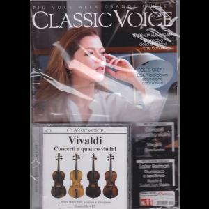 Classic Voice - n. 253 - maggio - giugno 2020 - mensile rivista + cd Vivaldi - Concerti a quattro violini