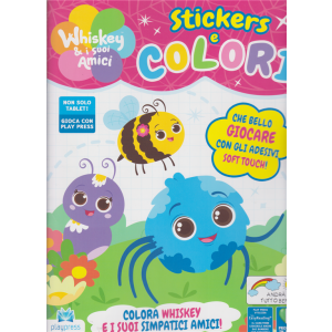 Whiskey & i suoi amici -  Stickers e colori - n. 1 - giugno - luglio 2020 - bimestrale -