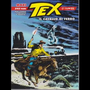 Tex Maxi - Il Cavallo di ferro - aprile 2019 - semestrale - 292 pagine -