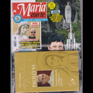 Maria con te + il libro I papi e Maria - Paolo VI - Devozione mariana e intelligenza della fede - n. 25 - settimanale - 21 giugno 2020 - rivista + libro