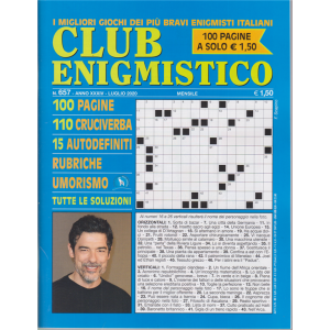 Club Enigmistico - n. 657 - luglio 2020 - mensile - 100 pagine