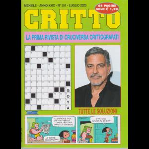 Critto - n. 351 - mensile - luglio 2020 - 68 pagine