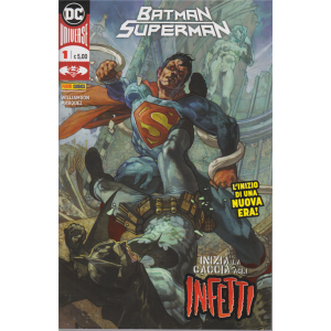 Bataman/Superman - n. 1 - L'inizio di una nuova era! - mensile - 16 aprile 2020 -