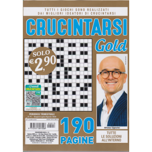 Crucintarsi Gold - n. 13 - trimestrale - giugno - luglio agosto 2020 - 190 pagine