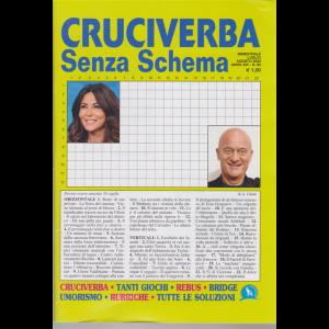 Cruciverba senza schema - n. 90 bimestrale - luglio - agosto 2020