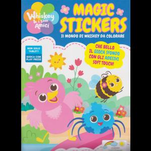 Whiskey e i suoi amici Magic Stickers - n. 1 - luglio - agosto 2020 - bimestrale