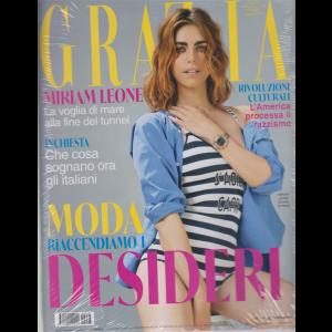 Grazia + L'olio di bellezza Nuxe - n. 28 - settimanale - 17/6/2020 -