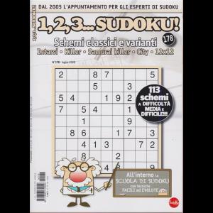 1,2,3 Sudoku! - n. 178 - luglio 2020 - mensile -