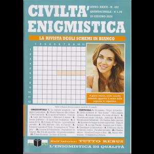 Civilta' Enigmistica - n, 422 - quindicinale - 20 giugno 2020 -
