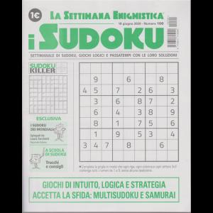 La settimana enigmistica - i sudoku - n. 100 - 18 giugno 2020 - settimanale