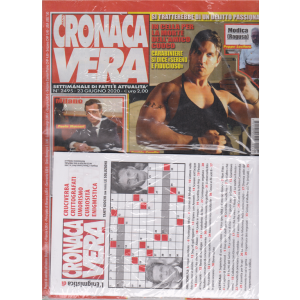 N.Cronaca Vera - + L'enigmistica di N. Cronaca Vera - n. 2495 - 23 giugno 2020 - settimanale di fatti e attualità - 2 riviste