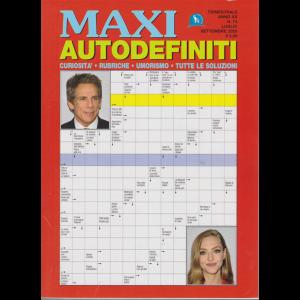 Maxi Autodefiniti - n. 74 - trimestrale - luglio - settembre 2020 -