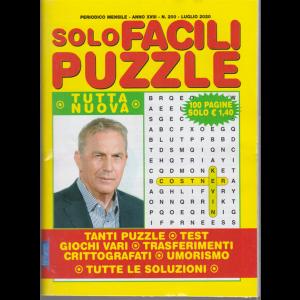 Solo Facili Puzzle - n. 200 - mensile - luglio 2020 - 100 pagine
