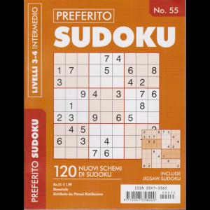 Preferito Sudoku - n. 55 - bimestrale - livelli 3-4 intermedio