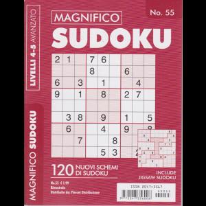 Magnifico Sudoku - n. 55 - bimestrale - livelli 4-5 avanzato