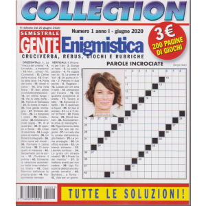 Gente Enigmistica Collection - n. 1 - giugno 2020 - 200 pagine di giochi