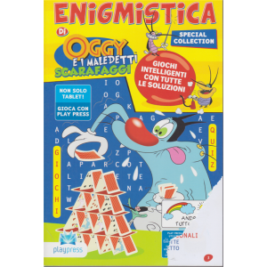 Enigmistica di Oggy e i maledetti scarafaggi - n. 19 - luglio - agosto 2020 - bimestrale