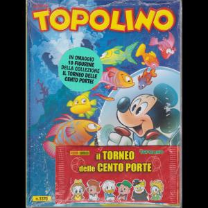 Topolino - n. 3370 - settimanale - 24 giugno 2020 + in omaggio 10 figurine della collezione Il torneo delle cento porte!