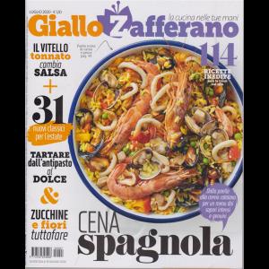 Giallo Zafferano - n. 7 - mensile - luglio 2020 - 114 ricette inedite