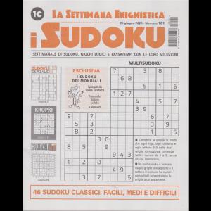 La settimana enigmistica - i sudoku - n. 101 - 25 giugno 2020 - settimanale