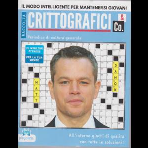 Raccolta crittografici & Co. - Matt Damon - n. 35 - bimestrale - 11/6/2020 -