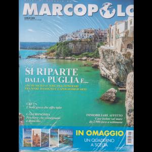 Marco Polo - + Diari di viaggio Napoli - Pompei - Ercolano - Paestum - n. 5 - luglio 2020 - mensile - 2 riviste