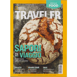National Geographic Traveller - Speciale food - n. 7 - trimestrale - 26 giugno 2020 - edizione italiana