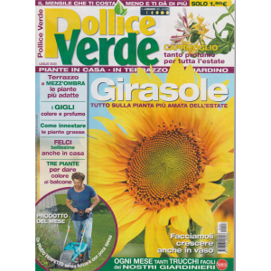 Pollice Verde - n. 126 - luglio 2020 - mensile