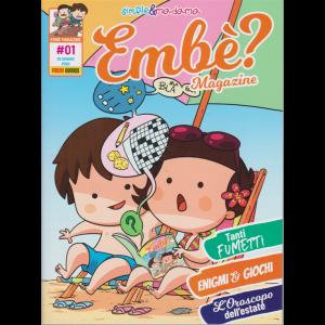 Panini Extra - Embè? Magazine - n. 1 - 25 giugno 2020 - bimestrale -